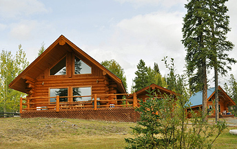 Cabin for rent on Nimpo Lake Waterfront